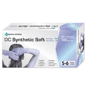 Synthetic Soft Handschuhe, 10 x 100 St., small
